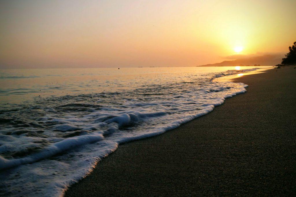 宇茂佐のビーチ